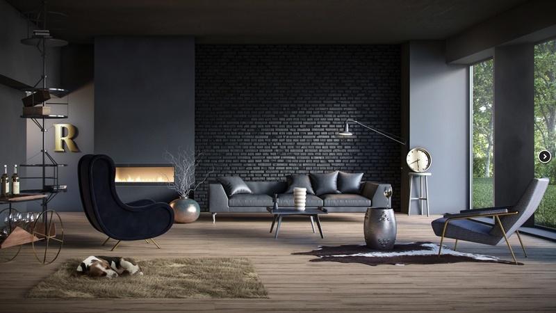 Серый ламинат в интерьере – много фото и подбор обоев, дверей   450x800